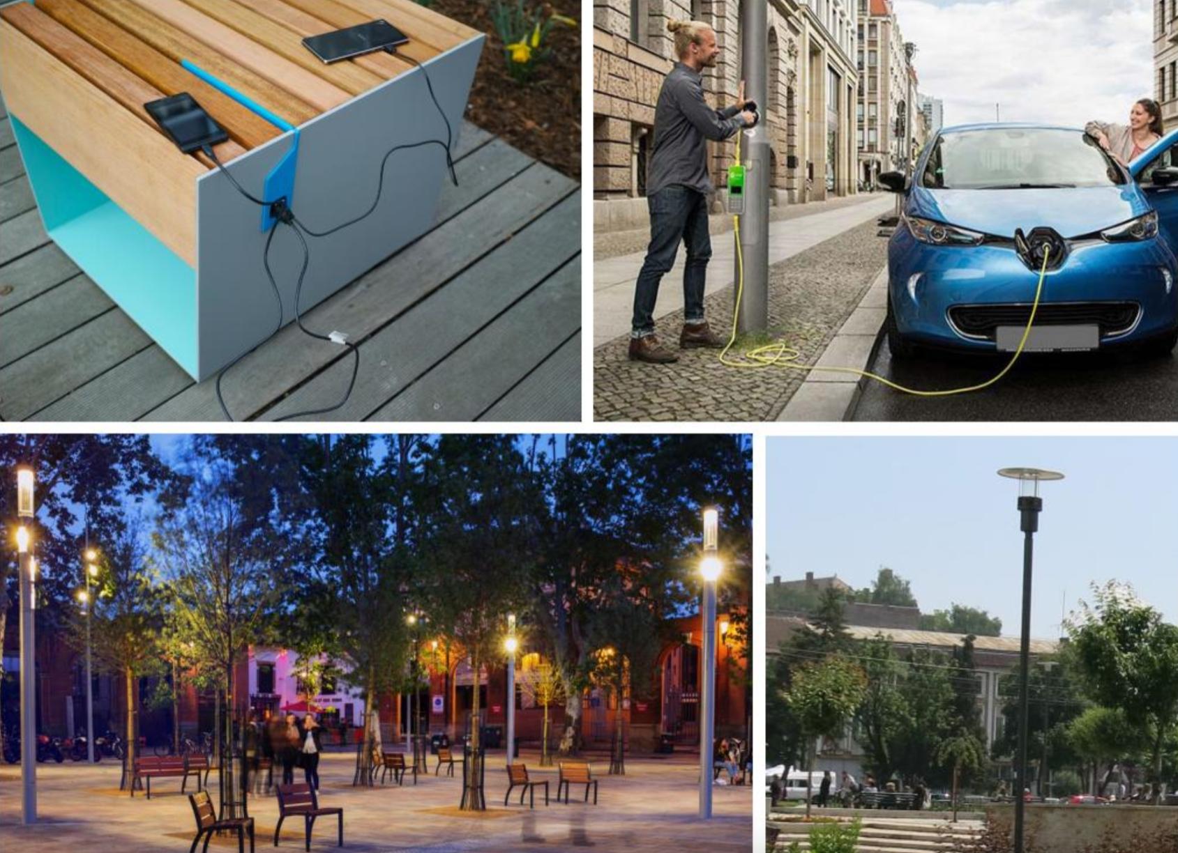 Clujul va avea o strada smart. Aceasta va avea stâlpi de iluminat cu wifi și banci cu incarcatoare prin usb