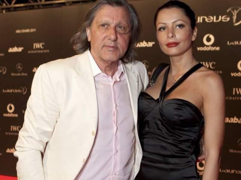 Ilie Năstase, alături de Brigitte Sfăt, înainte de divorţ la un eveniment monden