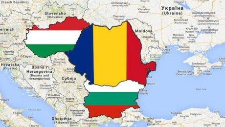 Bulgaria va intra în 2019 în Spaţiul Schengen. Hartă din care sunt scoase în relief Ungaria, România şi Buglaria
