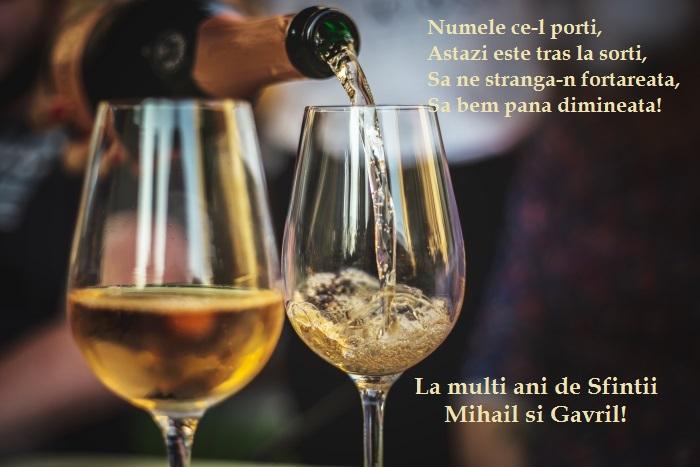 Sfinții Mihail și Gavriil dau numele lor unui număr de peste 1,3 milioane de români. La mulți ani tuturor acestora!