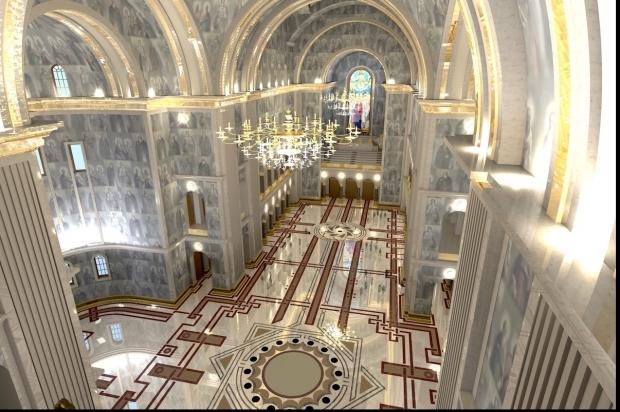 Catedrala Mântuirii Neamului, imagini din interior
