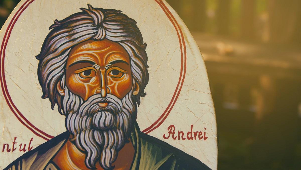 Sfântul Apostol Andrei nu îngăduie munca de ziua sa,30 noiembrie, nici pomana, nici împrumutul