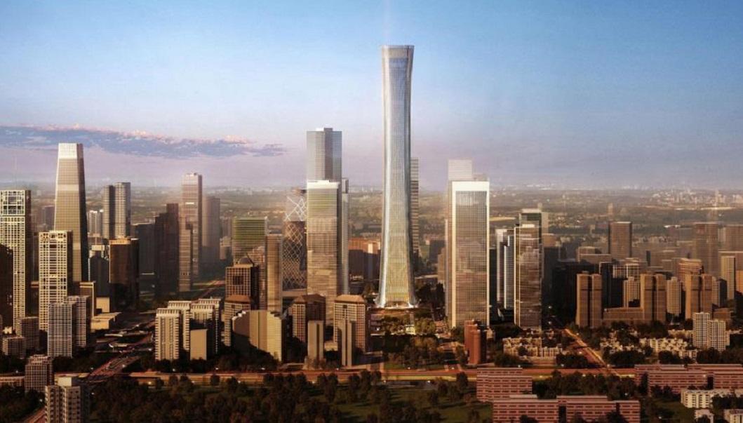 Cele mai înalte 10 clădiri din lume: China Zun Tower - 527,7 m, 108 etaje. Cea mai înaltă clădire din Shanghai, China