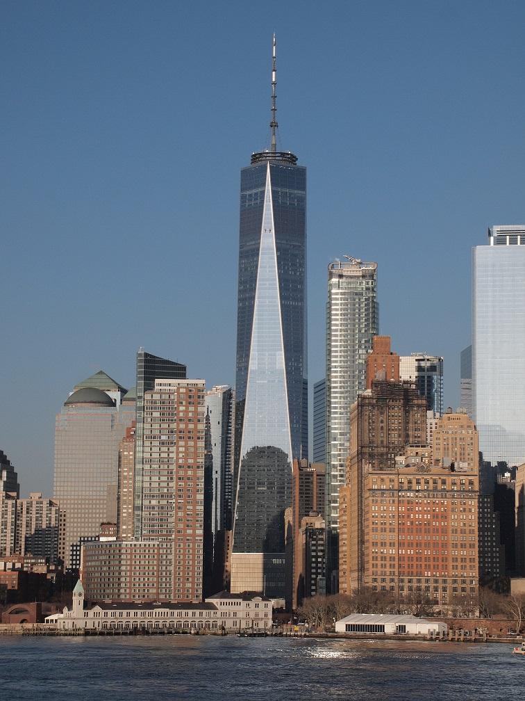 Cele mai înalte 10 clădiri din lume: One World Trade Center - 541,3 m, 94 de etaje. Cea mai înaltă clădire de pe continentul american (nord și sud)