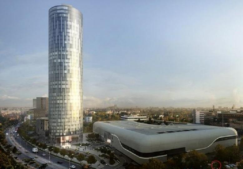 Cele mai înalte 10 clădiri din lume: Sky Tower, București - 137 m, 37 de etaje. Cea mai înaltă clădire din România