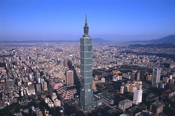 Cele mai înalte 10 clădiri din lume: TAIPEI 101 - 508 m, 101 etaje. Cea mai înaltă clădire din Taiwan
