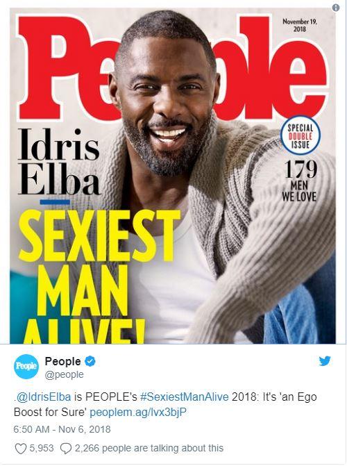 Cel mai sexy bărbat în viață este de culoare!