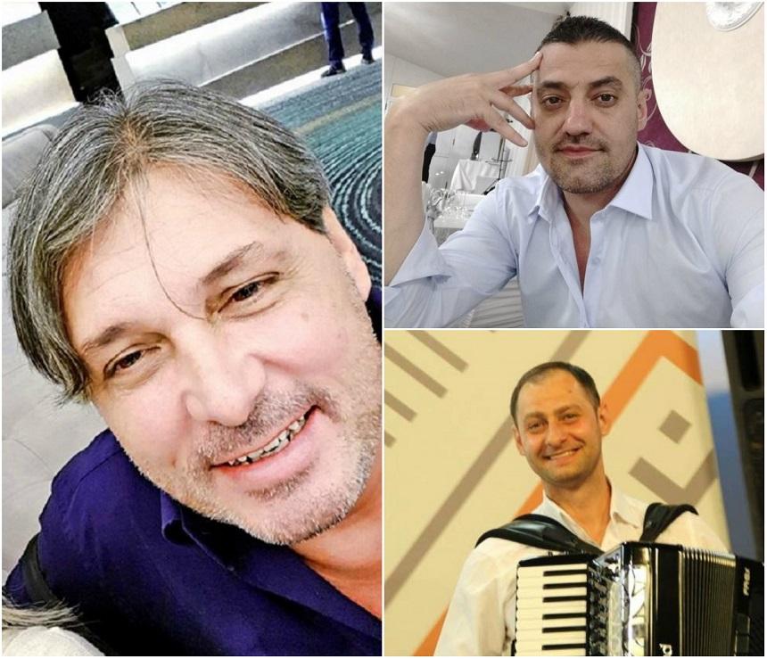 Cornel Galeș și cei doi fii ai Ilenei Ciuculete