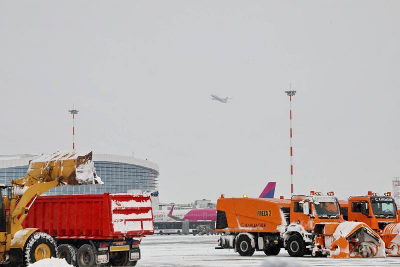 se anunta cod galben de ninsori ce se intampla pe aeroporturi