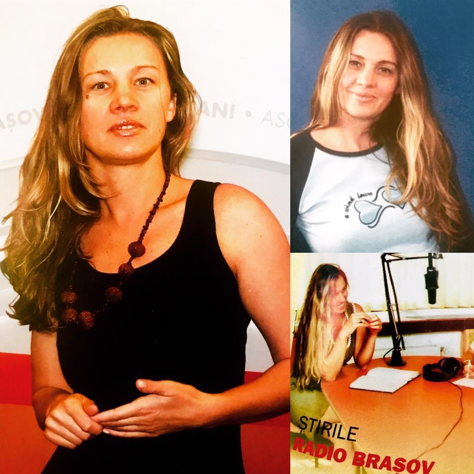 Fotografie în care se află Elena Cristian, jurnalista care a murit și a lăsat în urma un copil de 11 ani