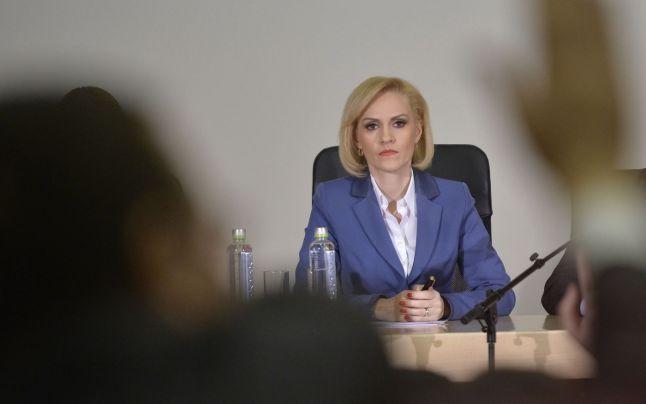 Gabriela Firea, primar general al Capitalei