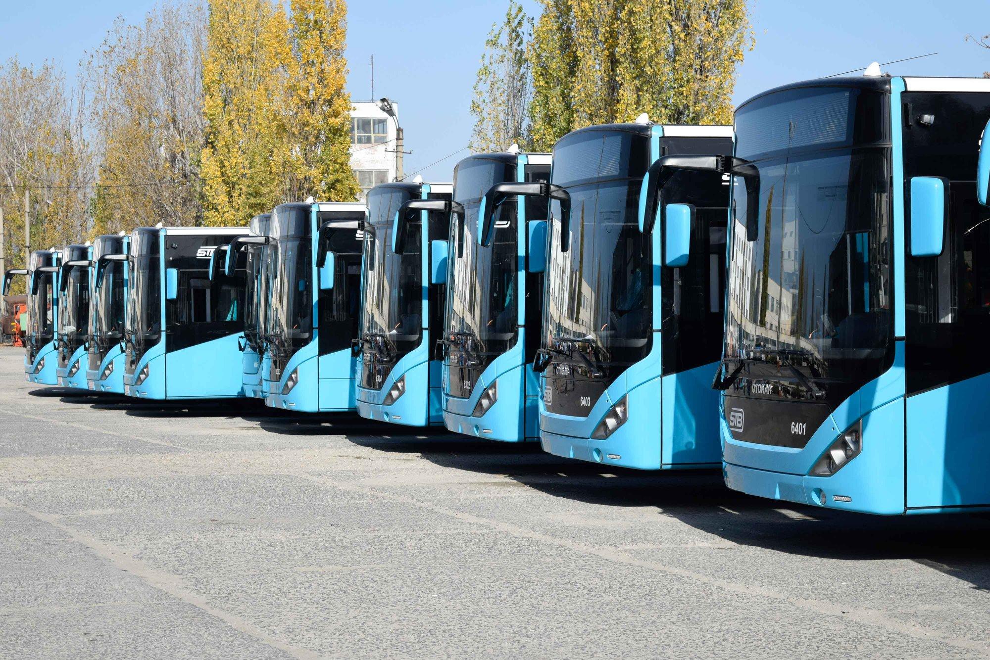 Autobuzele Otokar care vor asigura transportul STB în Bucureşti
