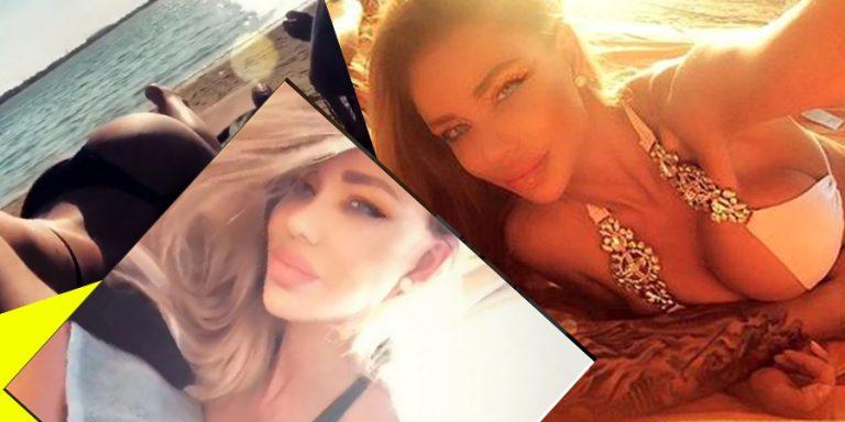 Bianca Dragusanu, pozata de iubit in pozitii indecente! Pozele din Dubai au scapat pe net si...