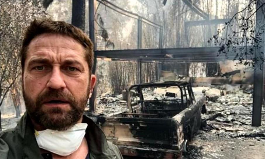 incendiile din california i-au pus in pericol vila, în valoare de 7 milioane de dolari, a monicai gabor
