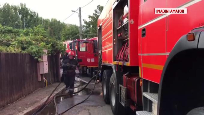 incendiu tragic in comuna cernica