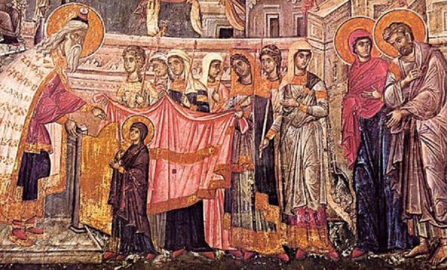 Intrarea Maicii Domnului în Biserică este cinstită de români cu multe obiceiuri și tradiții din moși-strămoși