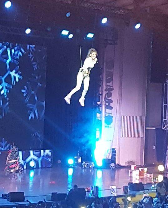 Iuliana Beregoi, show la spectacole
