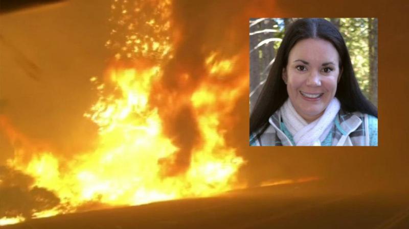 femeia care și-a sunat sotul din mijlocul incendiilor din california a supravietuit datorita convorbirii cu sotul ei