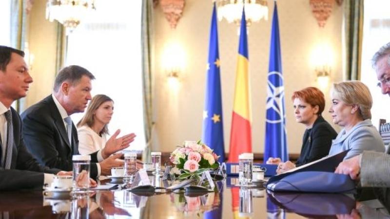 Klaus Iohannis nu a acceptat schimbarea Liei Olguța Vasilescu de la ministerul Muncii la ministerul Dezvoltării