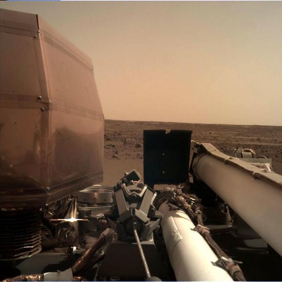 Foto credit: NASA Fotografie trimisă de InSight