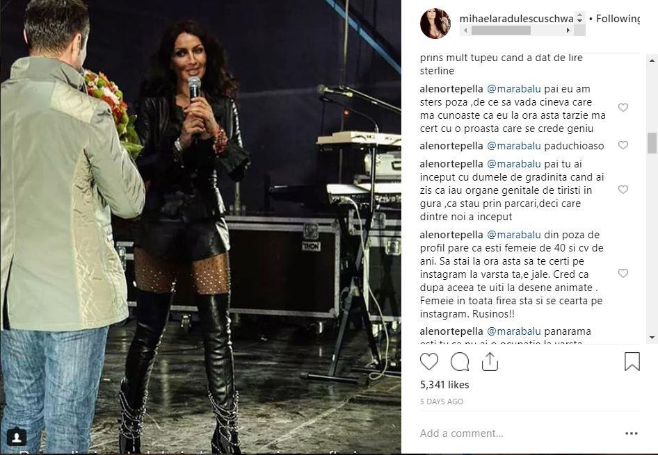 Postarea Mihaelei care a atras comentariile negative pe Instagram