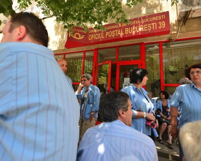 Angajaţii Poştei Române vor avea mult de suferit din 2019 in timpul grevei