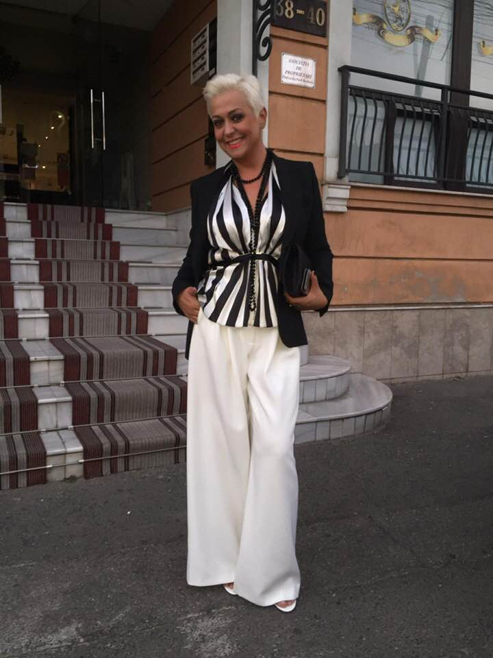 Monica Anghel este extrem de mândră de noua ei siluetă