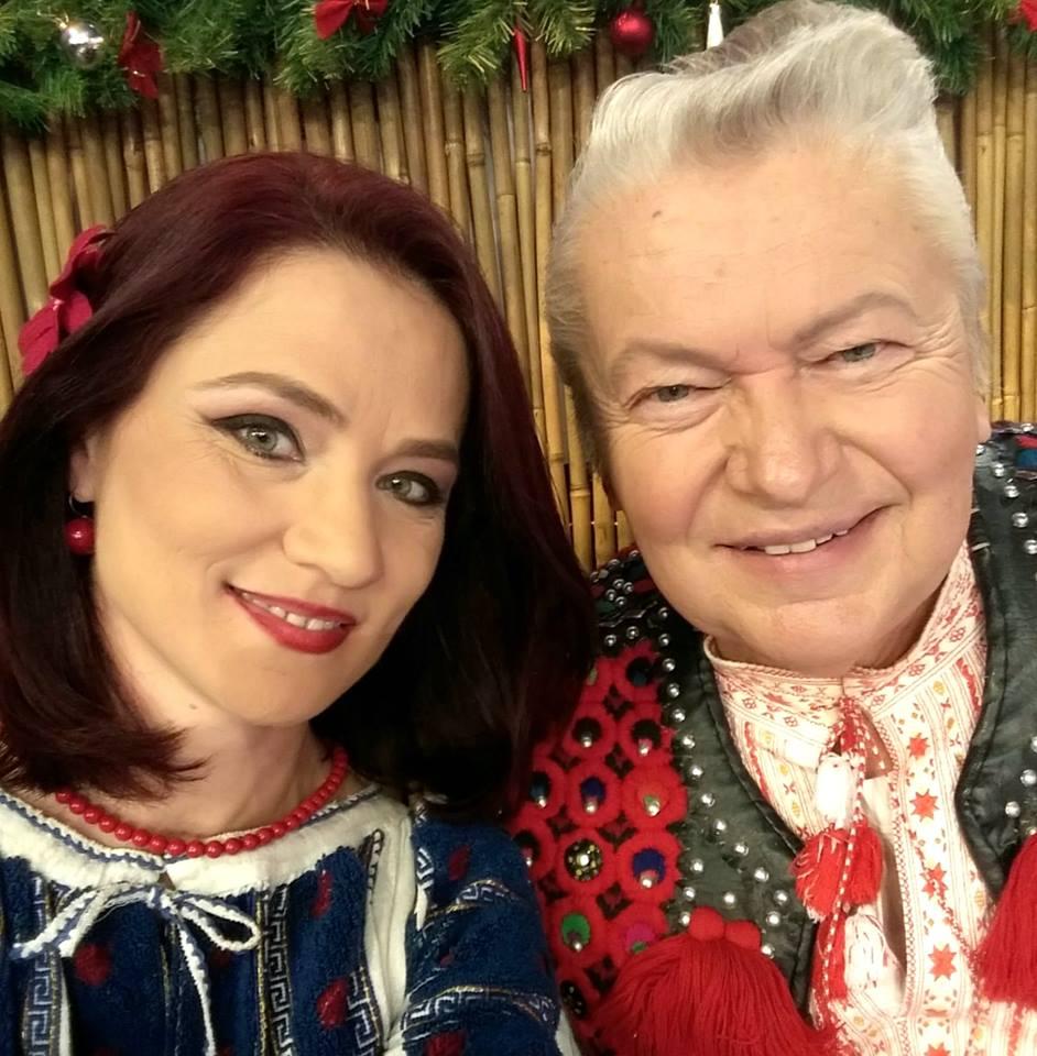 Gheorghe Turda și Nicoleta Voicu, iubita sa cu 23 de ani mai tânără.
