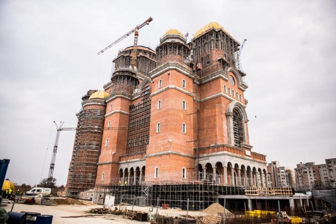 Catedrala României a fost sfinţită duminică, 25 noiembrie 2018. Imagine din exterior