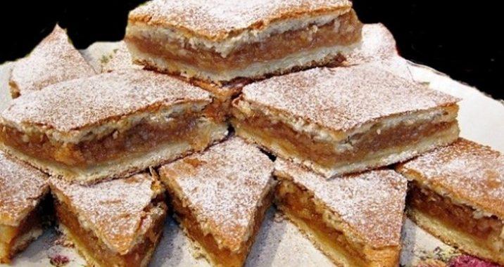 Plăcinta cu mere a Sandei Marin se prepară după o rețetă clasică, simplă, cu ingrediente ieftine