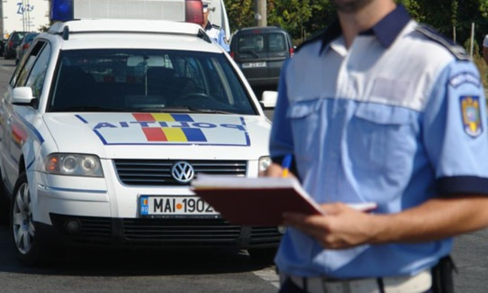 Local police in Bucharest