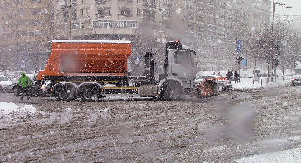 ANM, prognoză specială pentru București: Ninsori de ultimă oră în Capitală
