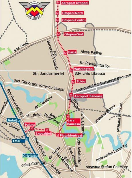 proiectul de construire a liniei de metrou 1 mai-otopeni a mai facut un pas