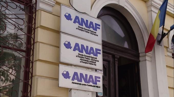 Sediul ANAF, fotografiat din exterior
