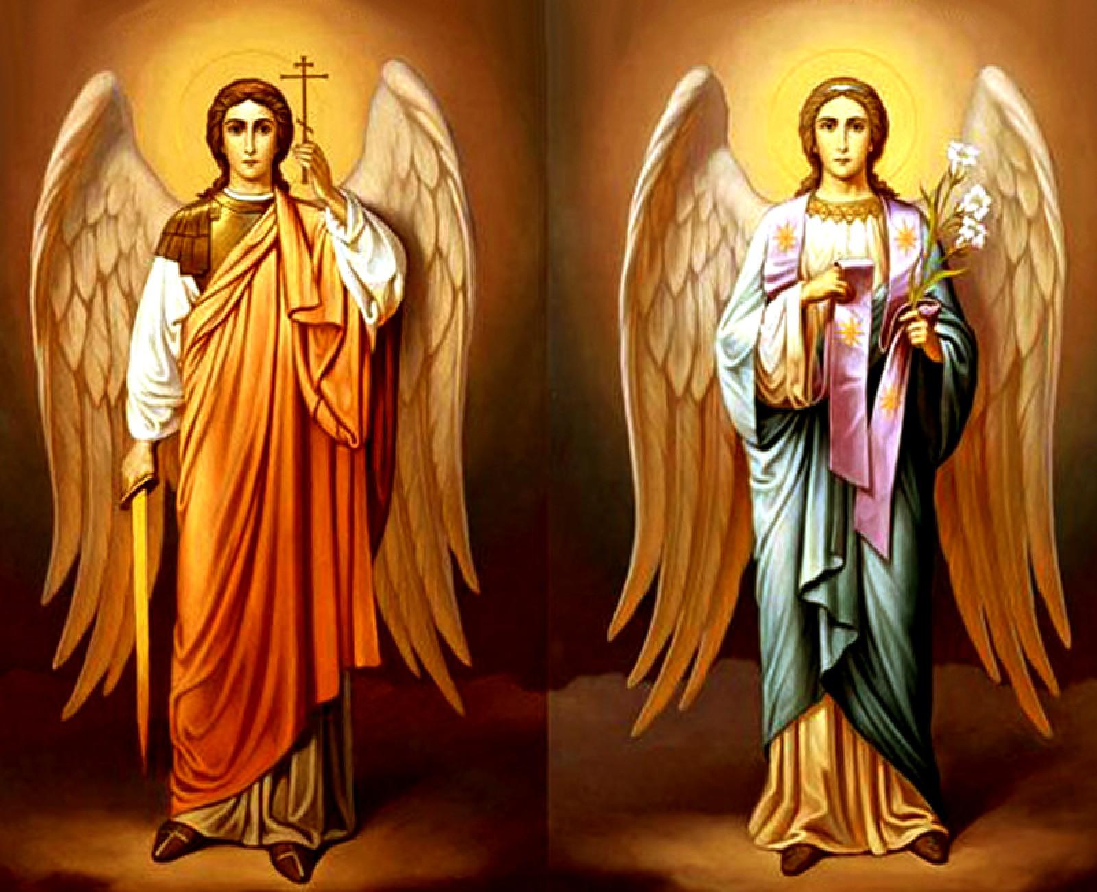 Sfinții Arhangheli Mihail și Gavriil sunt prăznuiți în fiecare an pe 8 noiembrie, 8 fiind simbolul veșniciei