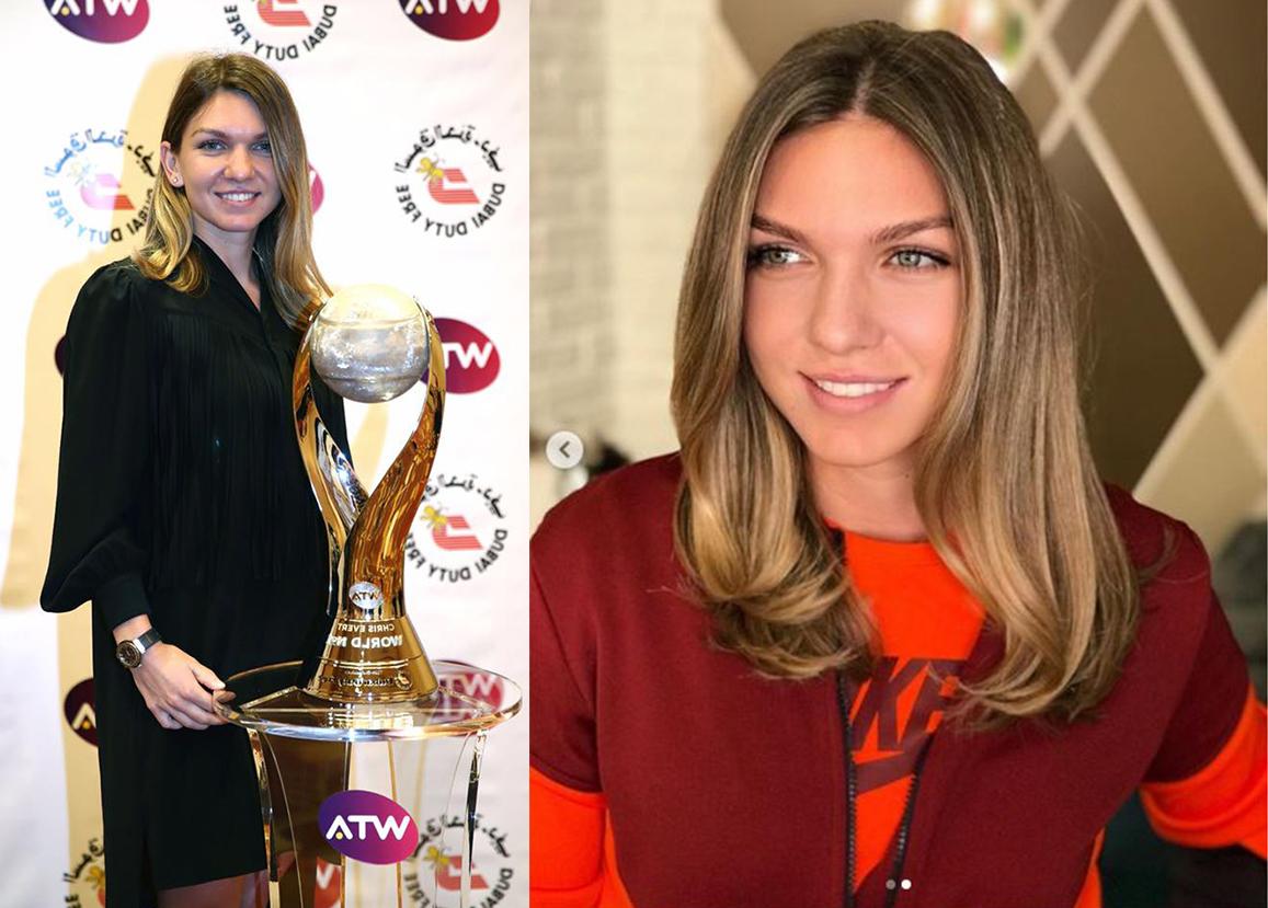 Simona Halep a fost încântată de rezultatul pe care i l-a oferit Sorin Stratulat