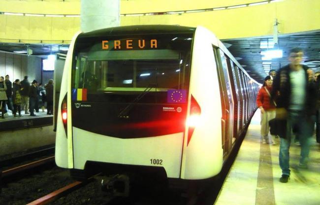 ULTIMA ORA! Greva GENERALA la metrou! NU se circula pana la ora 16.00