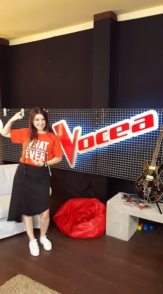 Luciana Răducanu este concurenta lui Tudor Chirilă, la Vocea României