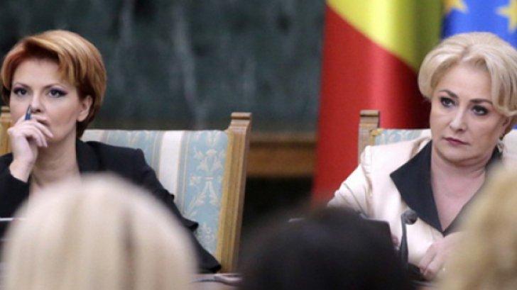Viorica dăncilă, alături de Olguța Vasilescu, ministrul Muncii