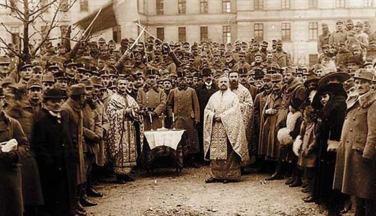 Ziua Națională, Alba Iulia, 1 decembrie 1918: entuziasm, bucurie, unitate! Adică Roamânia Mare!