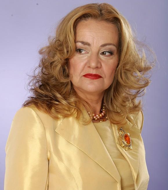 Actrița Olga Delia Mateescu