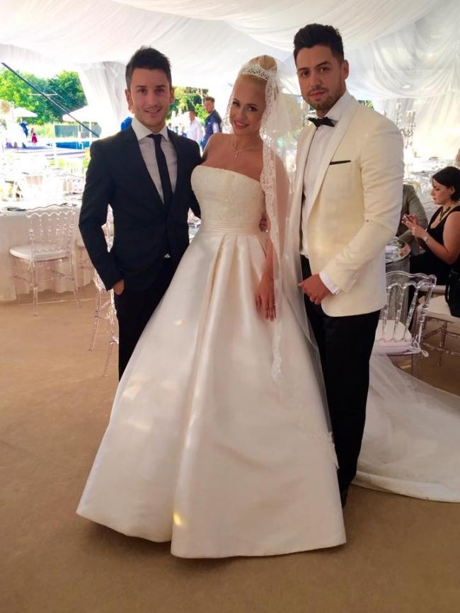 Poză de la nunta Andei Adam