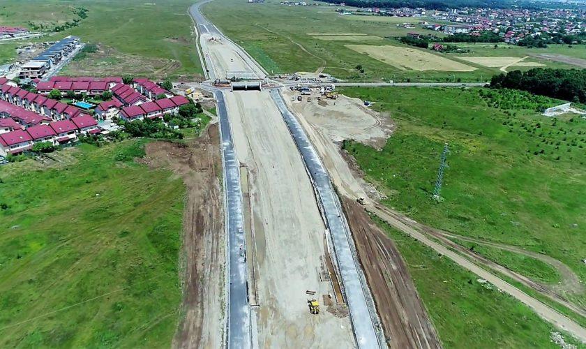 Autostrada A3 în lucru