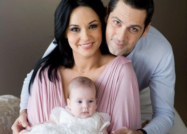 Cât de mare și frumoasă este fiica Andreei Marin și a lui Ștefan Bănică! Violeta are deja 11 ani