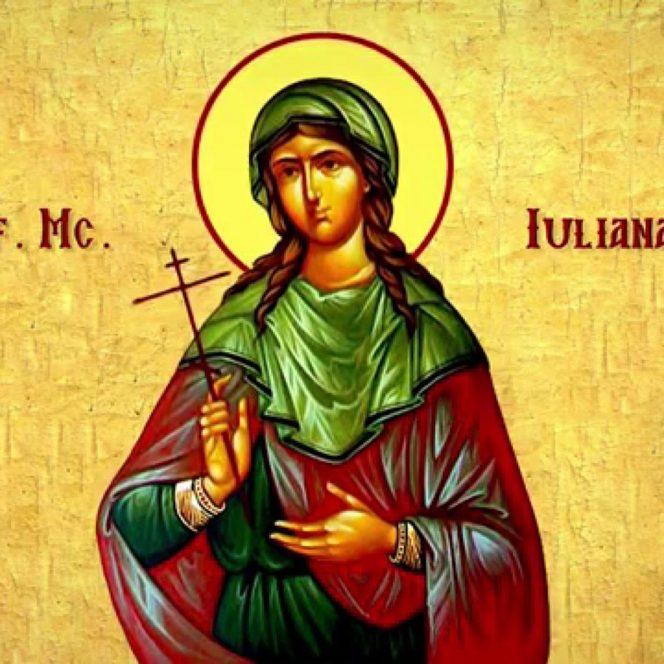 Sfânta Muceniţă Iuliana