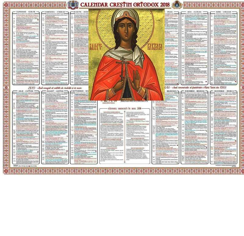 Calendarul ortodox