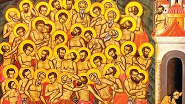 cei 20 de mii de sfinți arși în Nicodimia