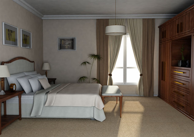 Unul dintre dormitoare