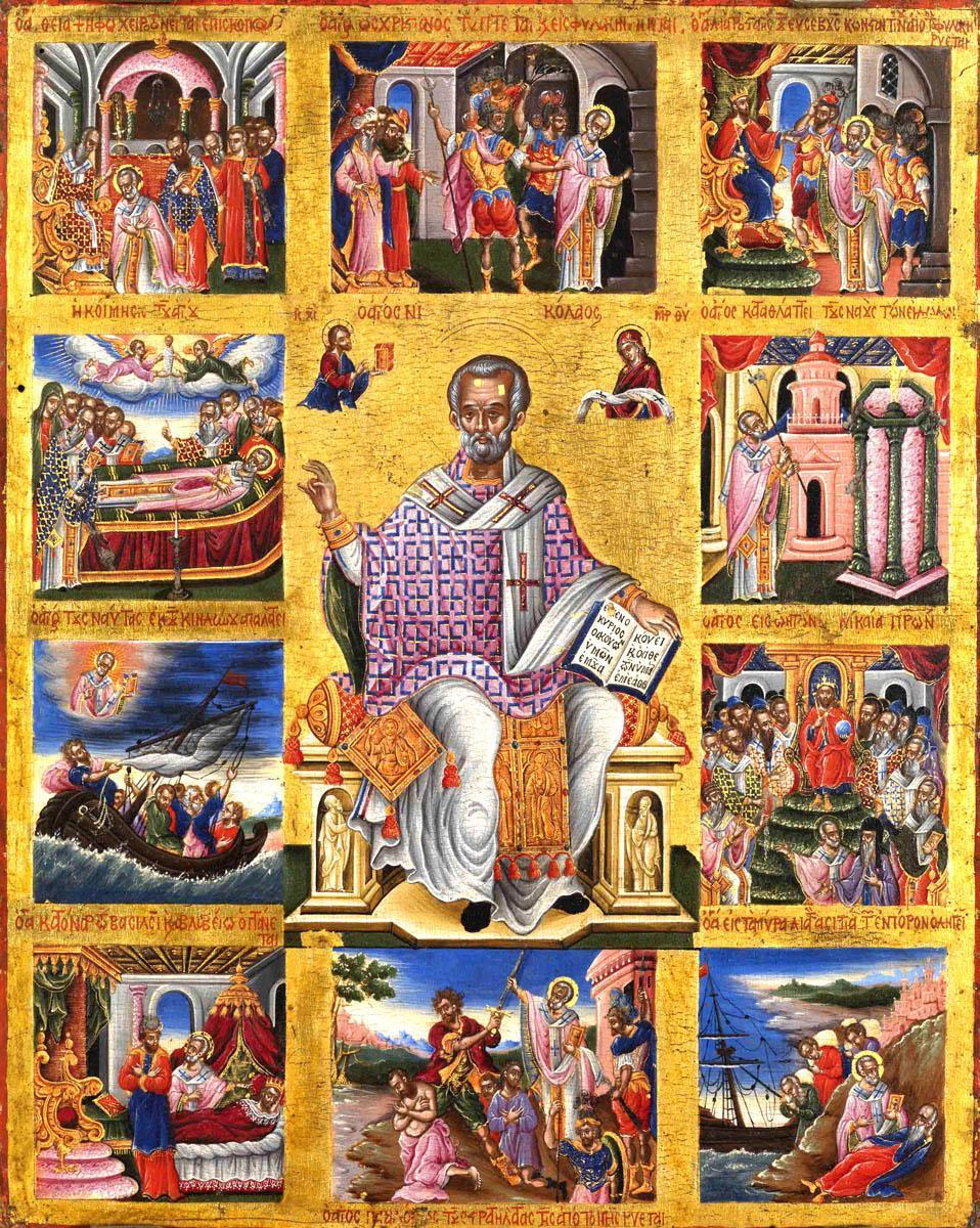 Sfântul Nicolae a suferit pentru credința și iubirea sa de Dumnezeu, dar nu s-a dezis niciodată de crucea pe care a purtat-o toată viața