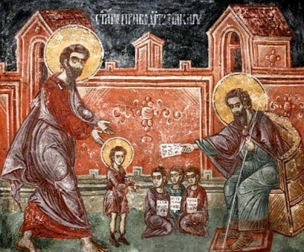 Sfântul Nicoale s-a dedicat de tânăr slujirii lui Dumnezeu, pentru dreptate și bunătate pe pământ